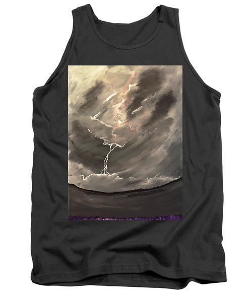 Going Down A Storm Tank Top by Scott Wilmot