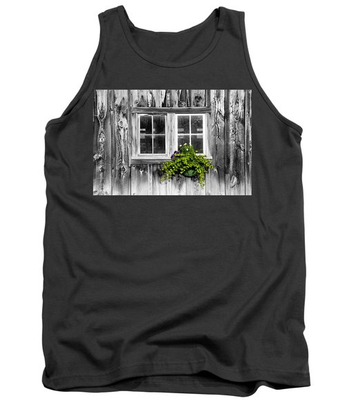 Going Green Tank Top by Greg Fortier