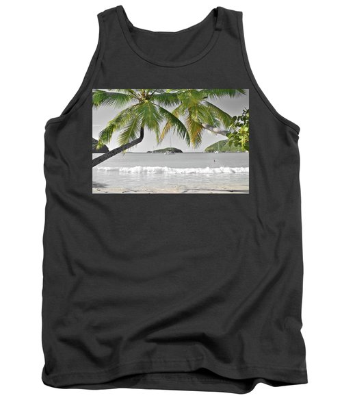 Tank Top featuring the photograph Going Green To Save Paradise by Frozen in Time Fine Art Photography