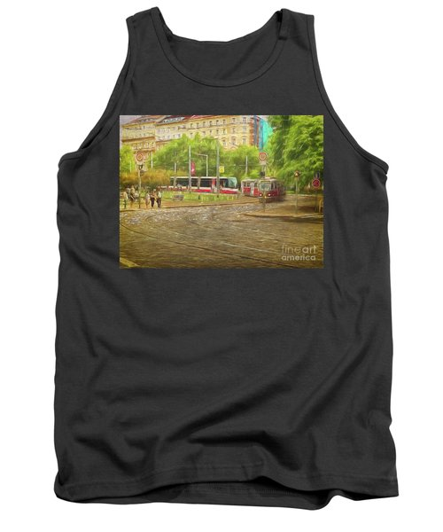 Going Slowly Round The Bend Tank Top