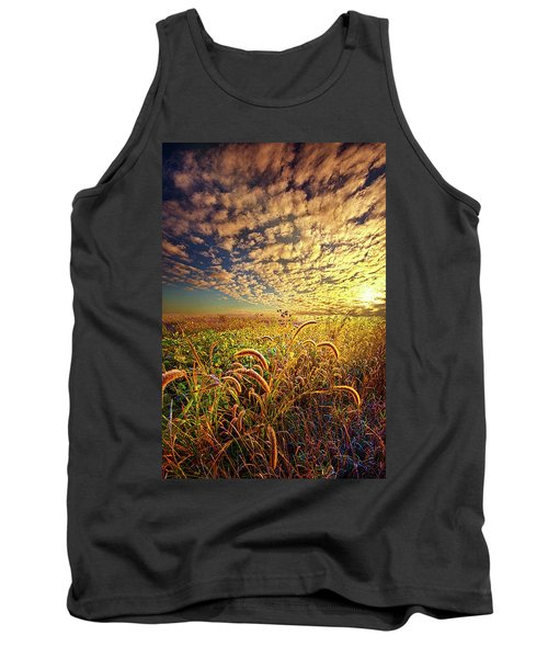 Going To Sleep Tank Top by Phil Koch