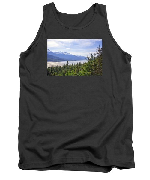 Going Up The Mountain Tank Top by Allan Levin