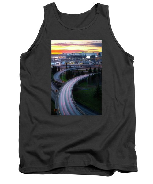 Gold And Arches Tank Top