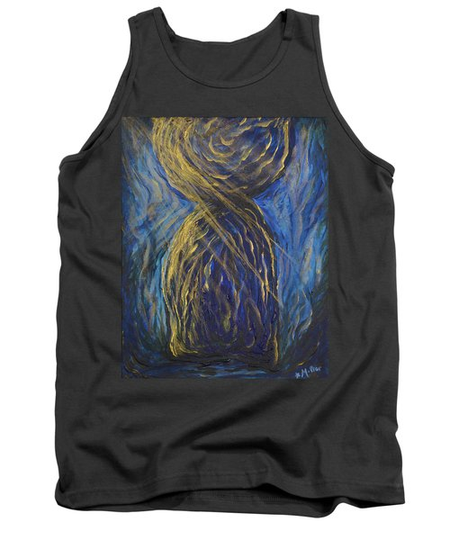 Gold And Blue Latte Stone Tank Top