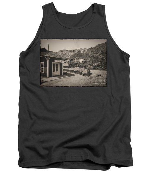 Tank Top featuring the photograph Gold Hill Station by Mitch Shindelbower