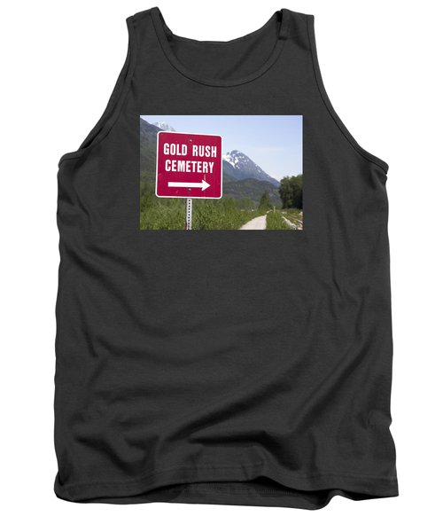 Gold Rush Cemetery Tank Top