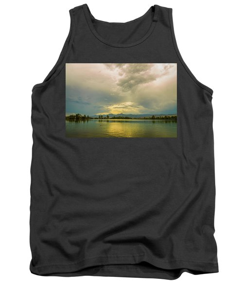 Tank Top featuring the photograph Golden Afternoon by James BO Insogna