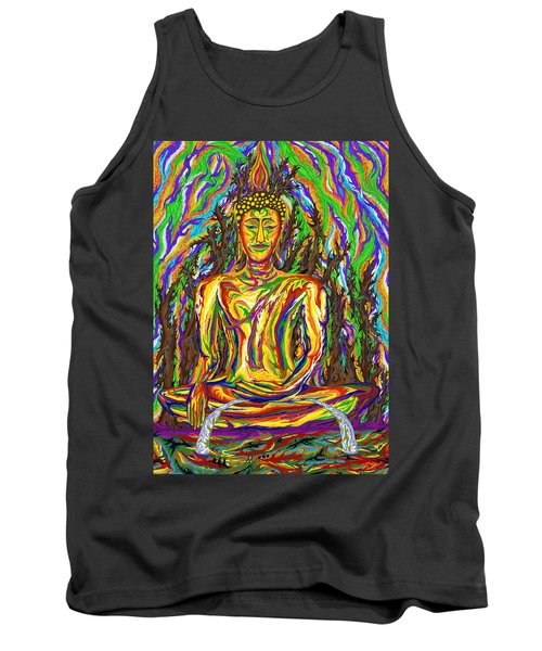 Golden Buddha Tank Top