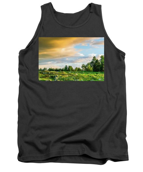 Golden Clouds Tank Top
