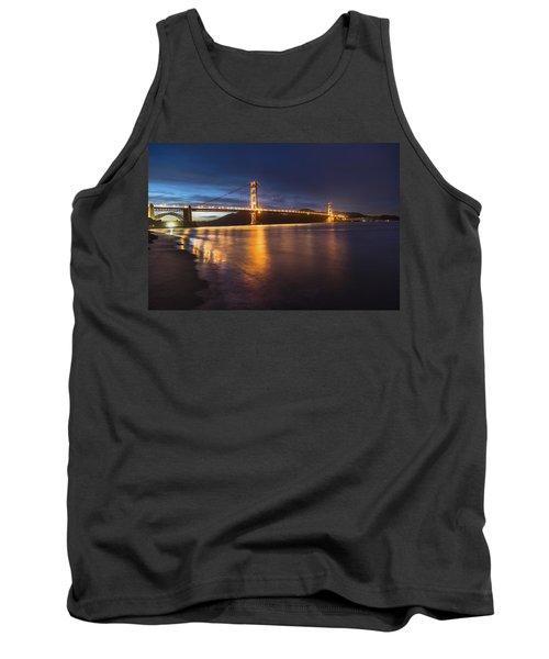 Golden Gate Blue Hour Tank Top
