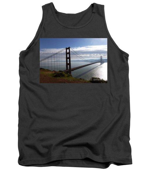 Golden Gate Bridge-2 Tank Top