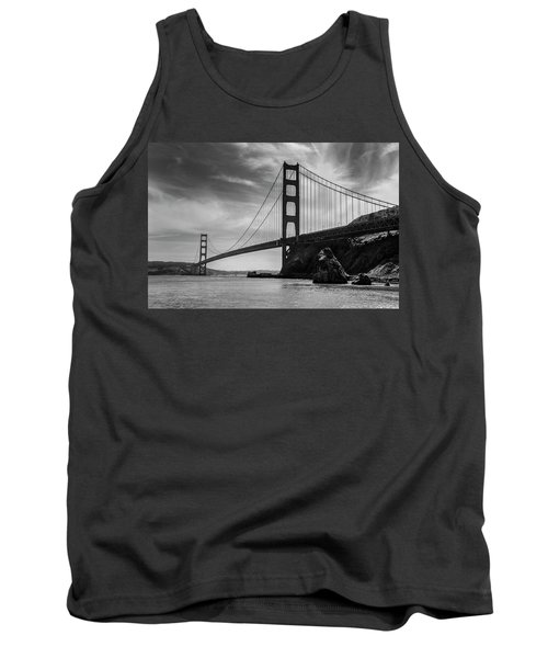 Golden Gate East Bw Tank Top
