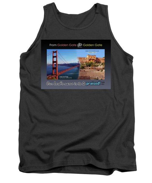 Golden Gate To Golden Gate Tank Top