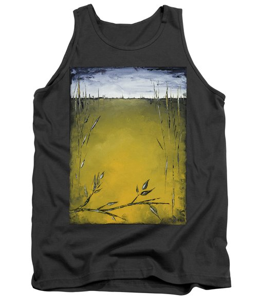 Golden Greens Tank Top