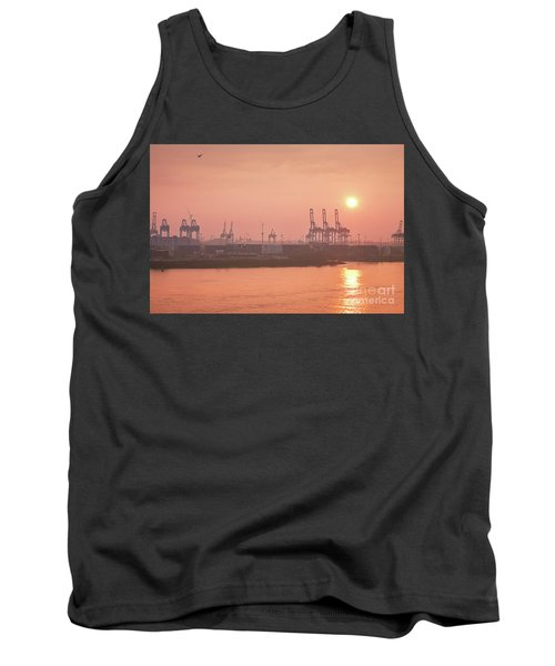 Golden Hour On The Elbe Tank Top