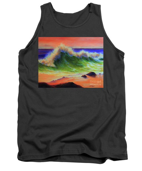 Golden Hour Sea Tank Top by Jeanette French