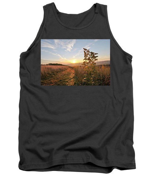 Golden Landscape Tank Top