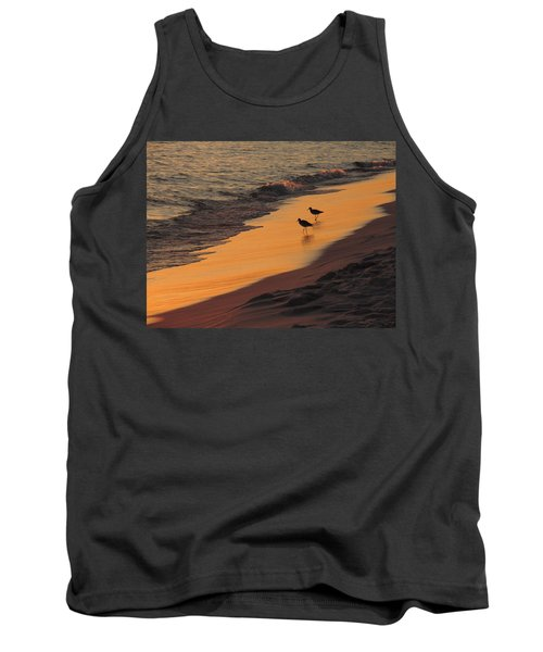 Golden Light At Sunset Tank Top by Teresa Schomig