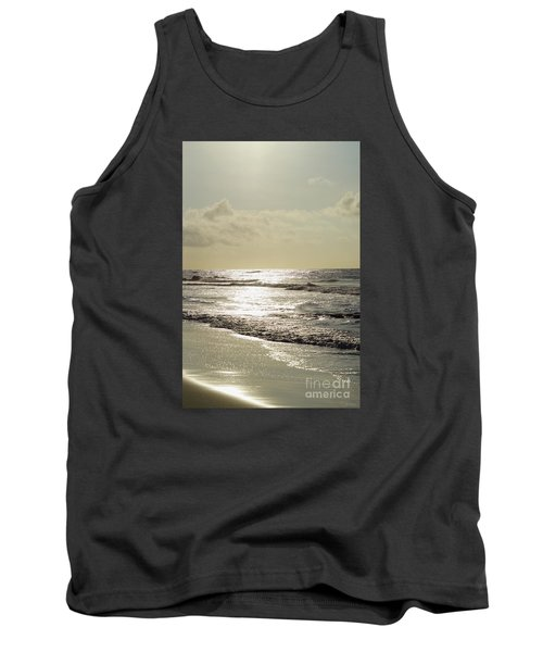 Golden Morning At Folly Tank Top