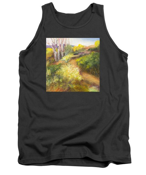 Golden Pathway Tank Top