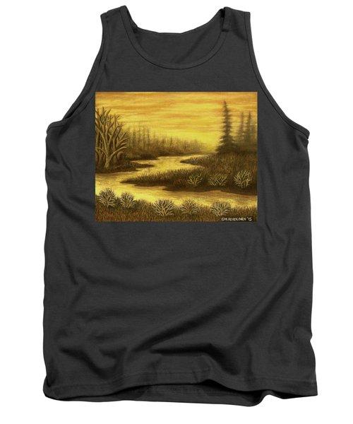 Golden River 01 Tank Top