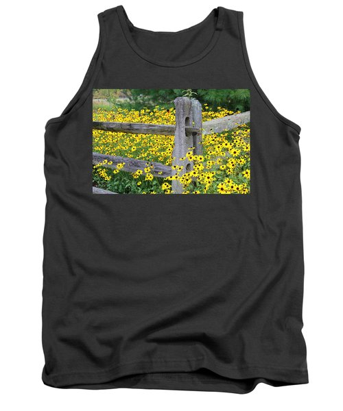 Golden-rod  Crowd Out Tank Top