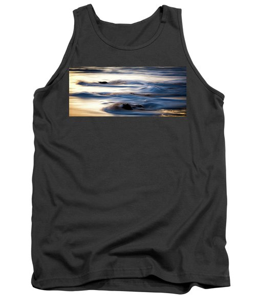 Tank Top featuring the photograph Golden Serenity by Jason Roberts