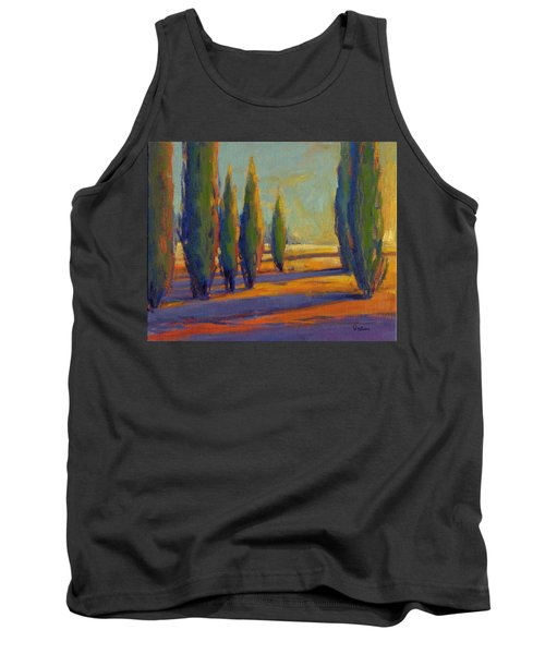 Golden Silence 2 Tank Top
