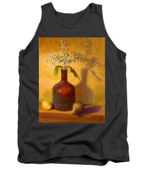 Golden Still Life Tank Top by Joe Bergholm