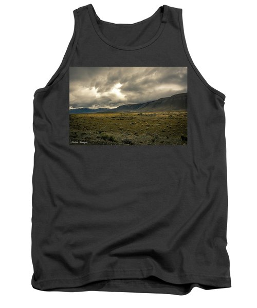 Tank Top featuring the photograph Golden Storm by Andrew Matwijec