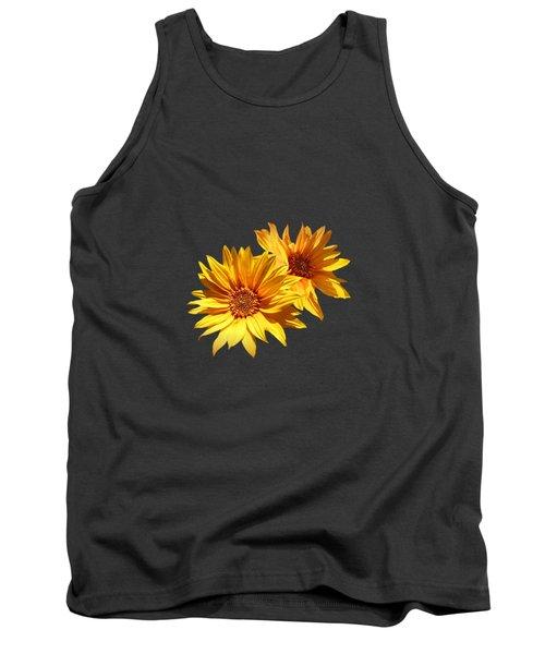 Golden Sunflowers Tank Top