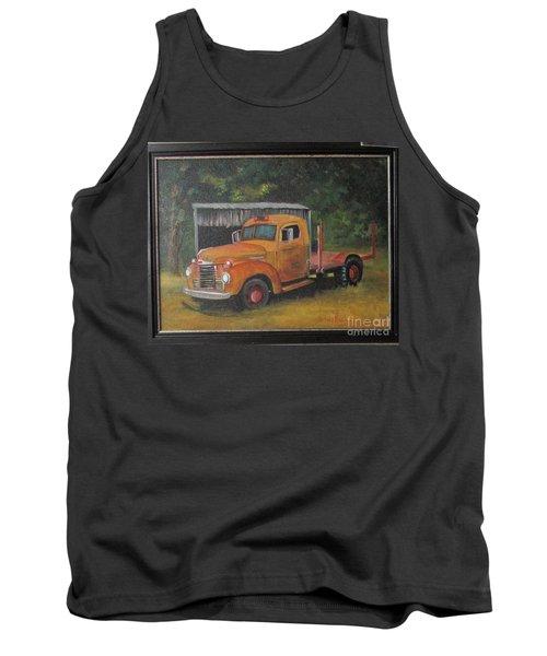 Golden Truck  Tank Top
