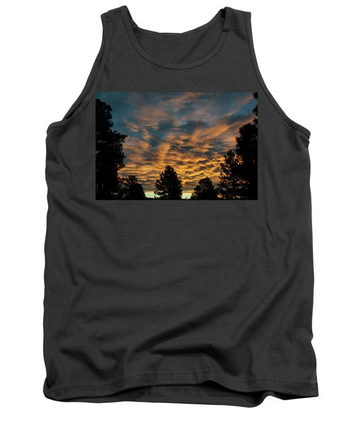 Golden Winter Morning Tank Top