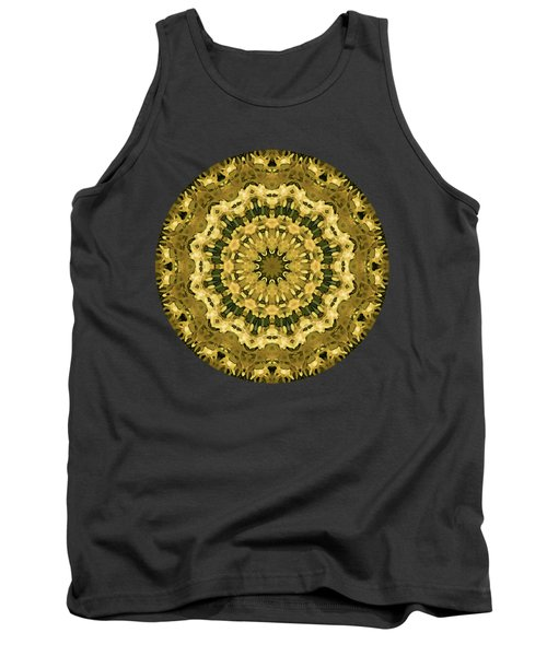Goldenrod Mandala -  Tank Top
