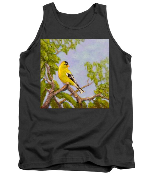Goldfinch Tank Top by Joe Bergholm