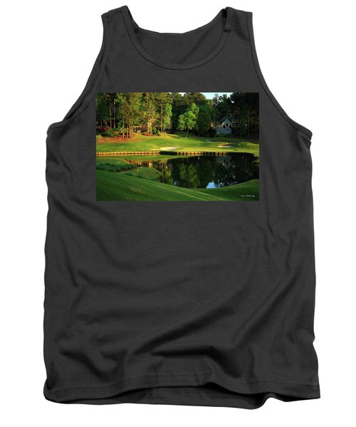 Golf The Landing #3 Reynolds Plantation Lake Oconee Ga Art Tank Top