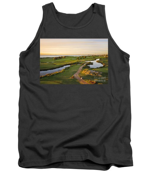 Golfing At The Gong II Tank Top