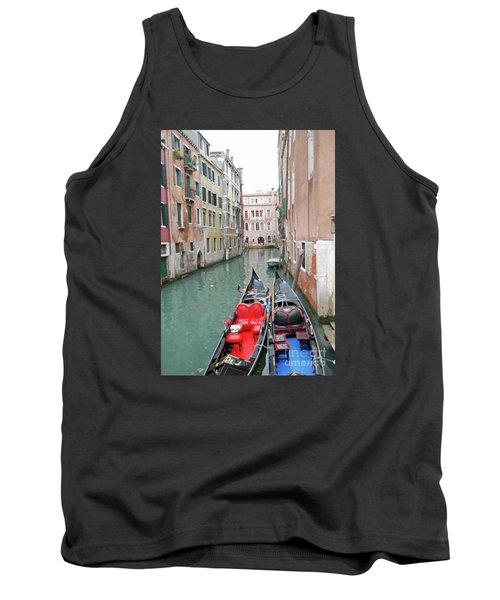 Gondola Love Tank Top by Linda Prewer