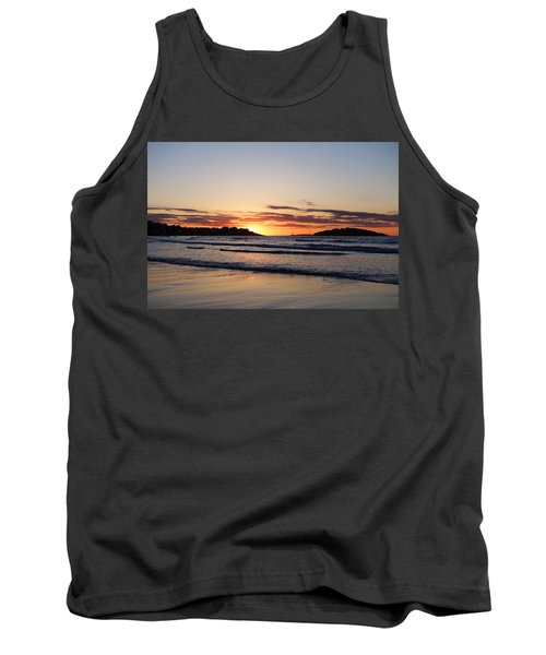 Good Harbor Beach At Sunrise Gloucester Ma Tank Top