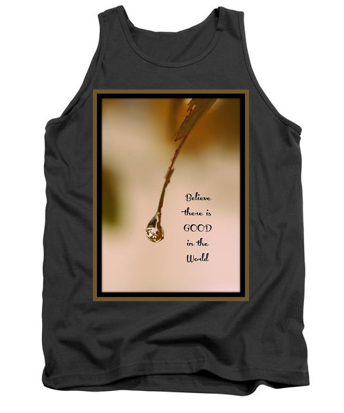Good In The World Tank Top by Trish Tritz