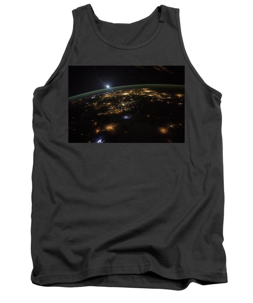 Good Morning From The International Space Station Tank Top