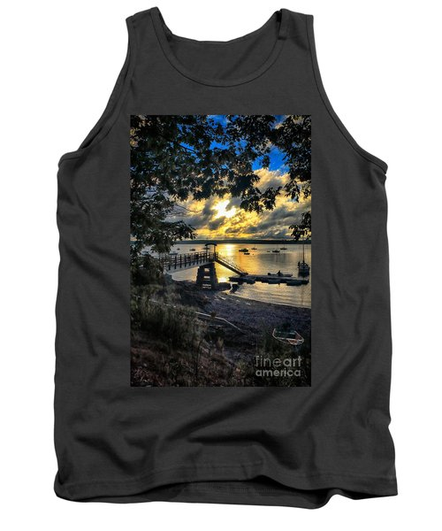 Good Night Madeleine Point Tank Top