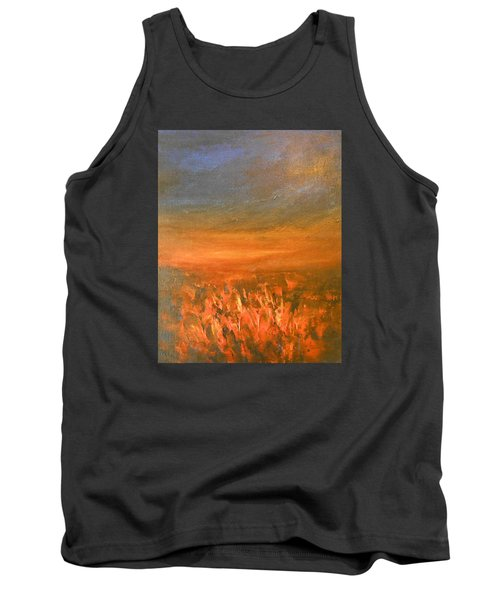 Tank Top featuring the painting Goodbye by Jane See