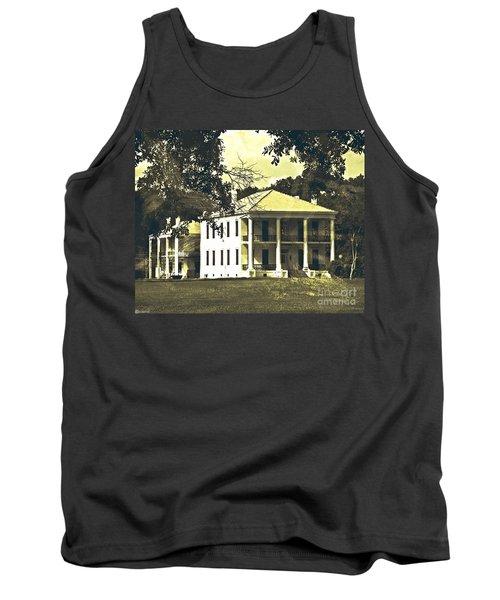 Goodwood Plantation Baton Rouge Circa 1852 Tank Top