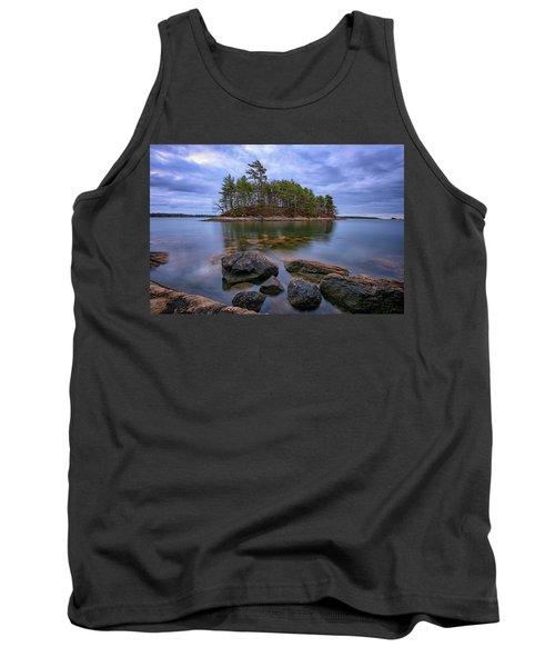 Tank Top featuring the photograph Googins Island by Rick Berk