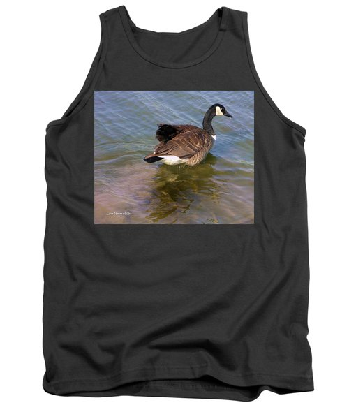 Goose Tank Top by John Lautermilch