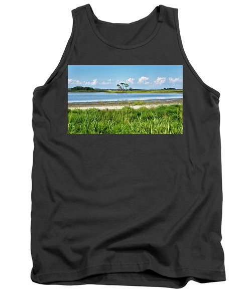 Gordons Pond - Cape Henlopen State Park - Delaware Tank Top by Brendan Reals