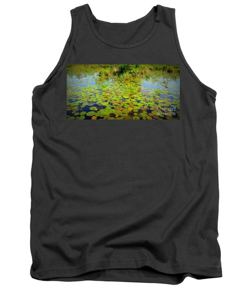 Gorham Pond Lily Pads Tank Top
