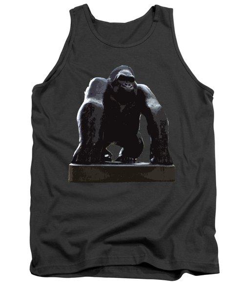 Gorilla Art Tank Top by Francesca Mackenney