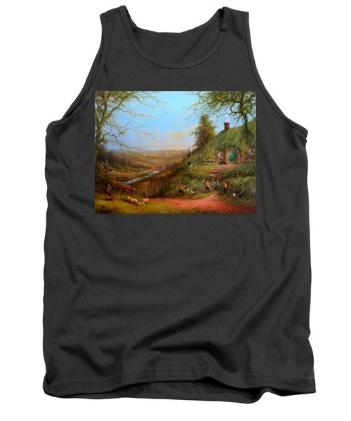Gossip At The Gate Tank Top